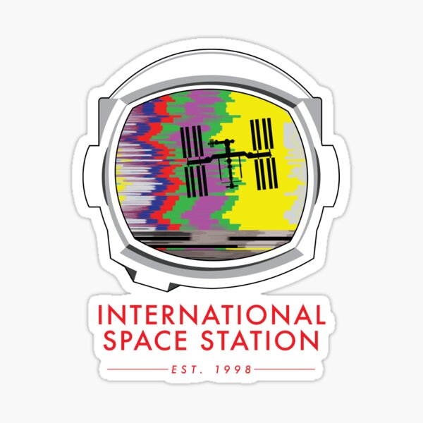 International Space Station  Sticker