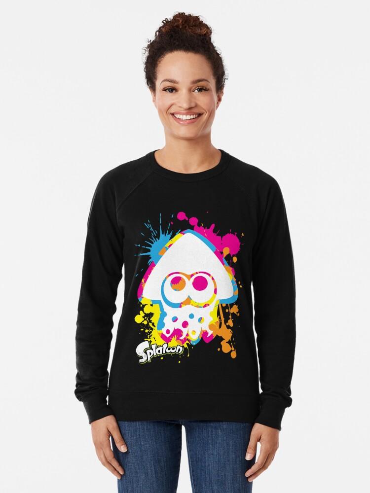 Alternative Ansicht von Splatoon Leichter Pullover