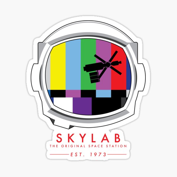 Skylab: The Original Space Station  Sticker