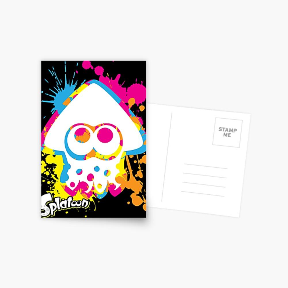 Splatoon Postcard