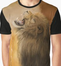 Lion in a Storm Graphic T-Shirt