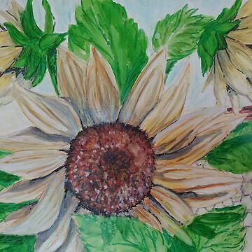 Mic's Sunflowers by GlennArt