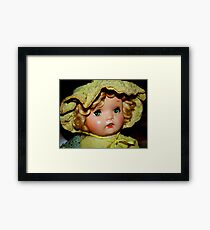 My Baby Doll Framed Print