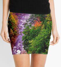 Autumn Blaze Mini Skirt