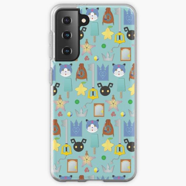 Kingdom Hearts Icons Samsung Galaxy Soft Case