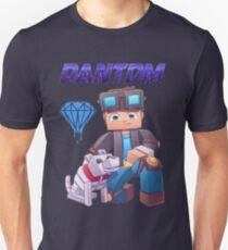dantdm T-shirt for tdm fans  Unisex T-Shirt