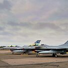 F-16's by Lea Valley Photographic