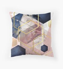 Abstract Geo Throw Pillow