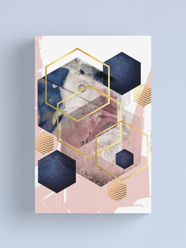 Alternate view of Abstract Geo Canvas Print