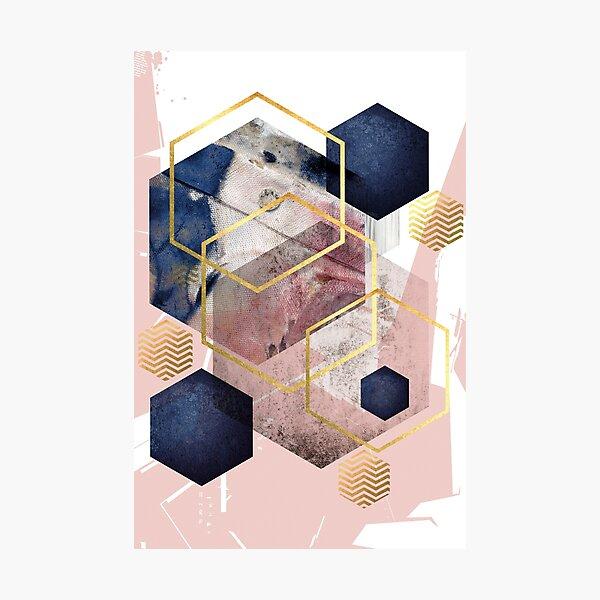 Abstract Geo Photographic Print