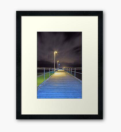 Kwinana Beach Jetty  Framed Print
