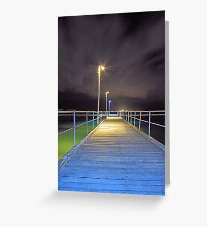 Kwinana Beach Jetty  Greeting Card