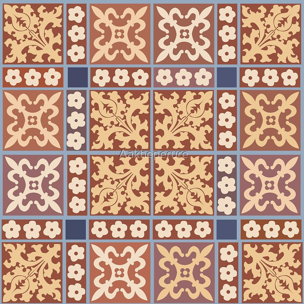 Medieval Tiles: Parliament I by Aakheperure