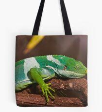 Fiji Banded Iguana Tote Bag