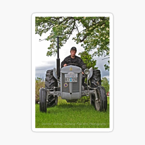 Tractor massey ferguson 1955. For you Leif Emil Bäckman. Sticker