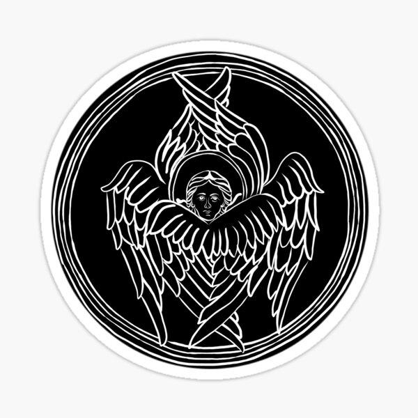 White Seraphim Sticker