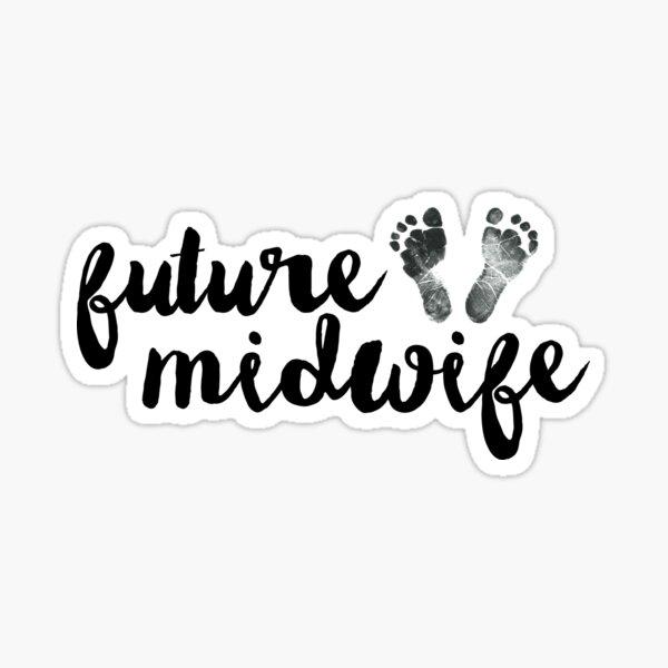 Future Midwife Sticker