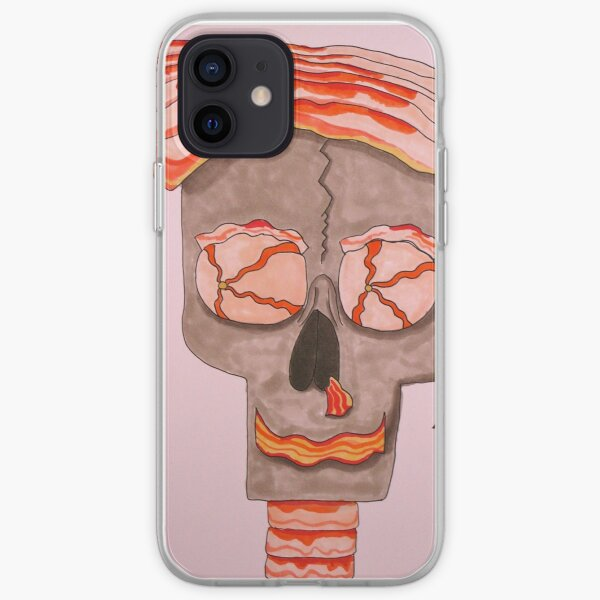 Mr. Baconhead iPhone Soft Case