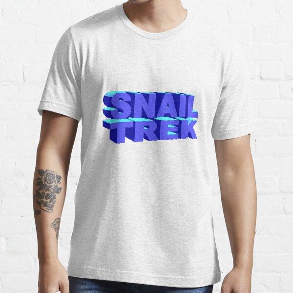 Snail Trek Blue Logo Essential T-Shirt