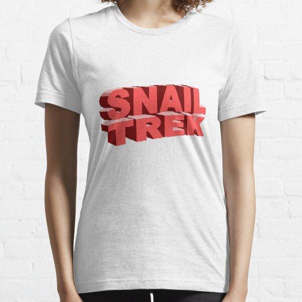 Snail Trek Red Logo Essential T-Shirt