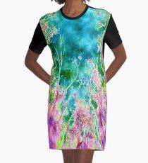 Tree Fantasy Graphic T-Shirt Dress