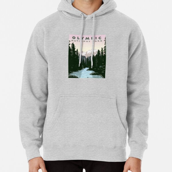 Olympic National Park Washington Pullover Hoodie