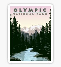 Olympic National Park Washington Sticker