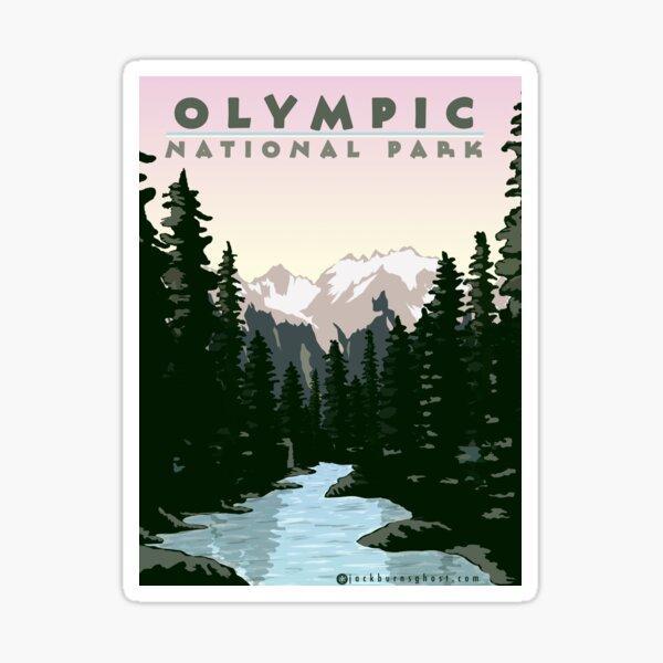Olympic National Park Washington Sticker