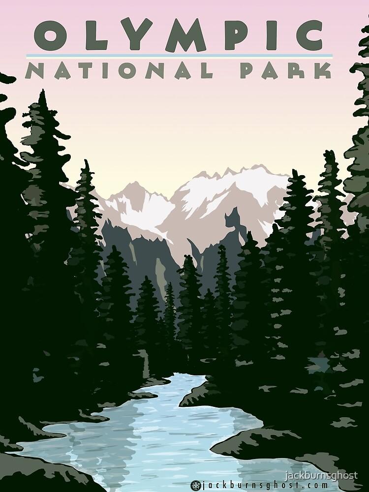 Olympischer Nationalpark Washington von jackburnsghost