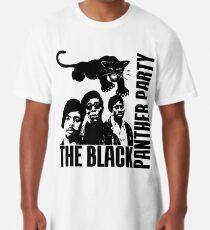 Camiseta larga Fiesta de la pantera negra