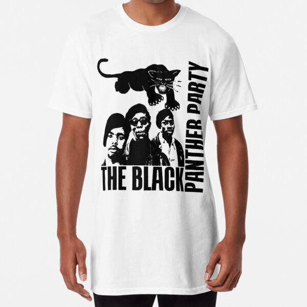 BLACK PANTHER PARTY Long T-Shirt
