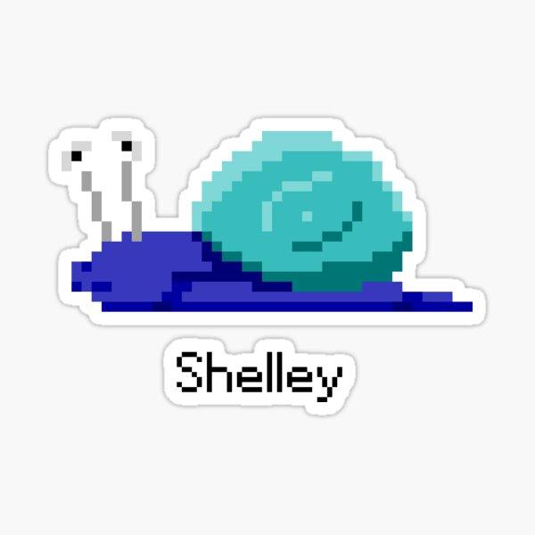 Shelley from Snail Trek Sticker