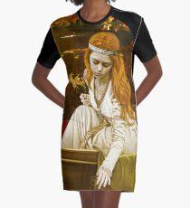 The Lady of Shalott Graphic T-Shirt Dress