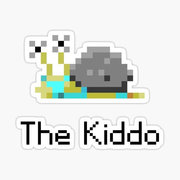 The Kiddo from Snail Trek Sticker