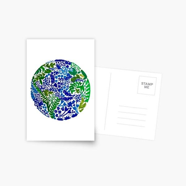 Die Erde lacht in Blumen Postkarte