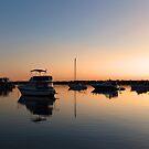 Dawn At The Labrador Broadwater. Gold Coast, Queensland, Australia. by Ralph de Zilva
