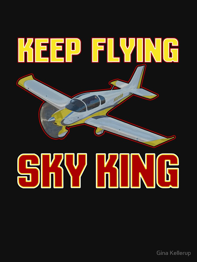 Airplane Lover Keep Flying Sky King by KanigMarketplac