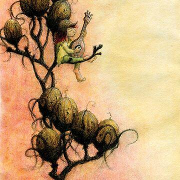 Strumming in the Seedpods by HeidiHoHo