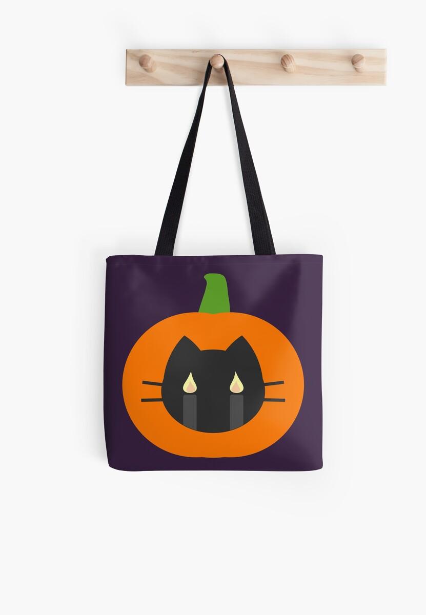 Cat Pumpkin Purple by SparkSnaps