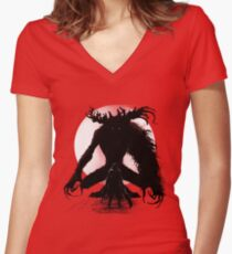 Time to Hunt Women's Fitted V-Neck T-Shirt