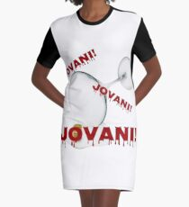 Real Housewives - Jovani! Graphic T-Shirt Dress