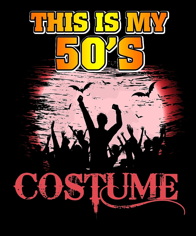 This Is My 70s Costume Halloween T Shirt 1970s Gift Tees_50's by chihai
