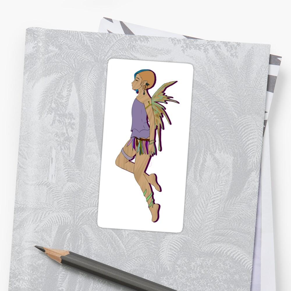 Pixie Sticker Front