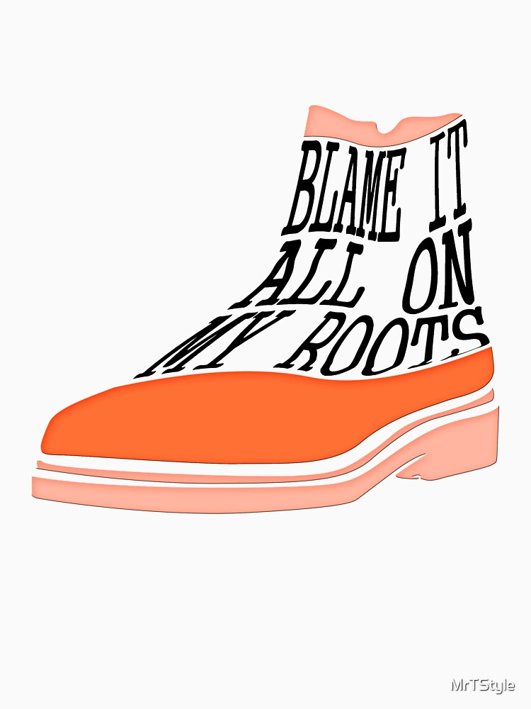 Blame It All On My Roots Shirt Country Music Tee Gift Idea by MrTStyle