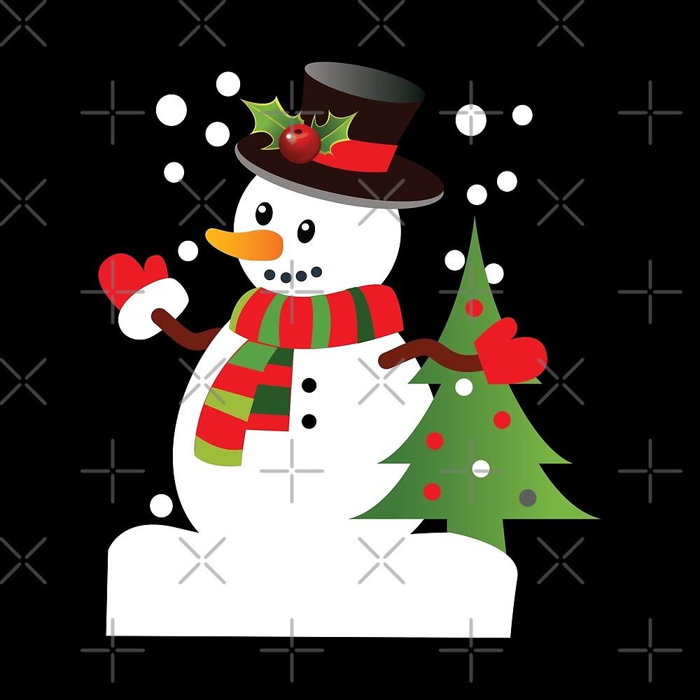 Snowman Christmas by URBANBOX