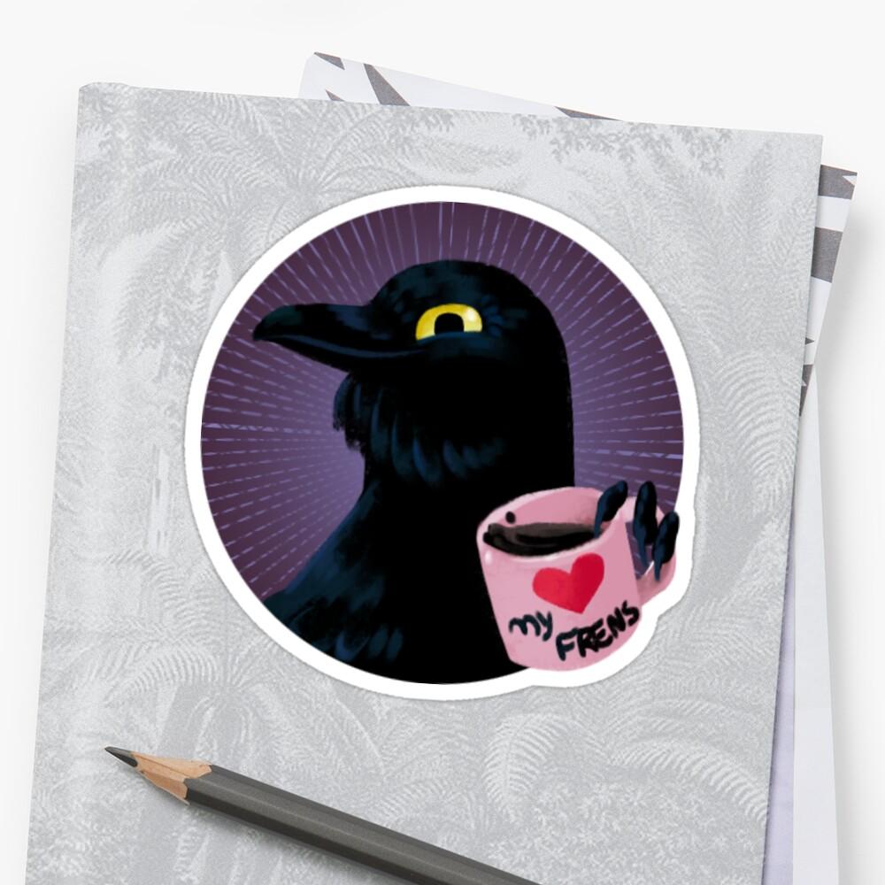 Friendly Crow by Kuvolviski