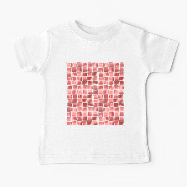 Red Parquet Baby T-Shirt