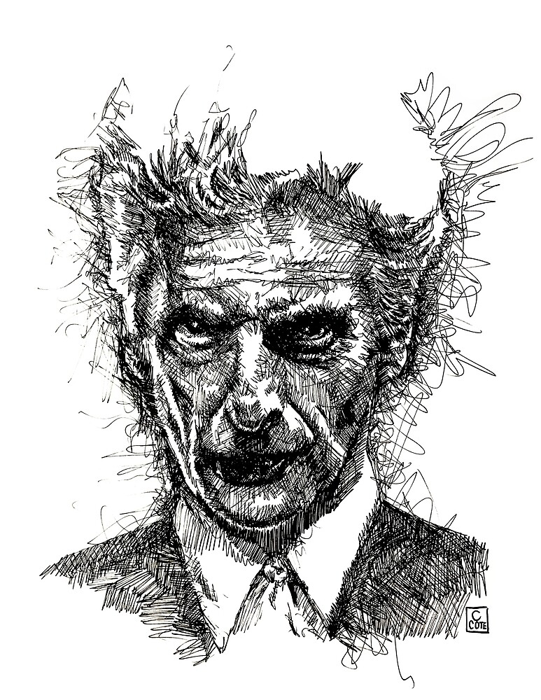 Peter Capaldi, 12th Doctor by Clint Cote