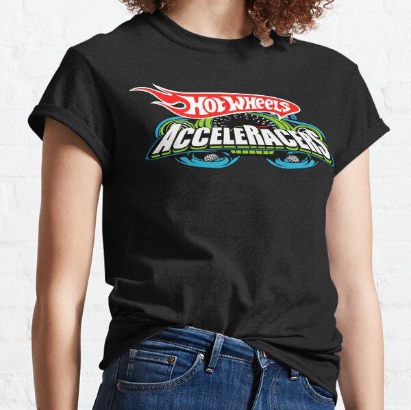 Logotipo de Hot Wheels AcceleRacers Camiseta clásica