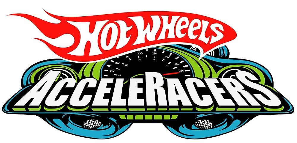 Hot Wheels AcceleRacers Logo by ValkenVugen
